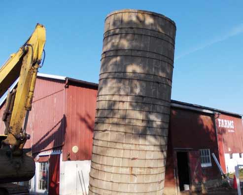 residential demolition Evansville Farm